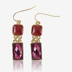 Brilliant Berry Earrings