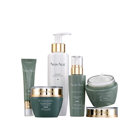 NovAge Ecollagen Wrinkle Power -ihonhoitosetti