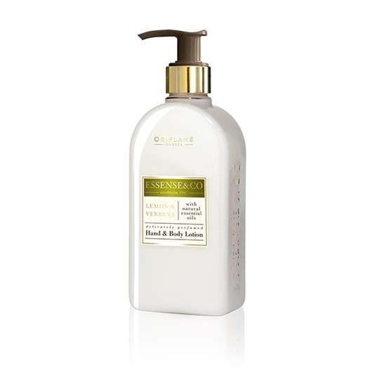 Essense & Co. Lemon & Verbena -käsi- & vartaloemulsio