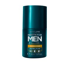 North for Men Recharge 48H -roll-on antiperspirantti